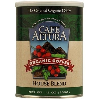Cafe Altura - House Blend Ground Coffee ( 6 - 12 OZ)