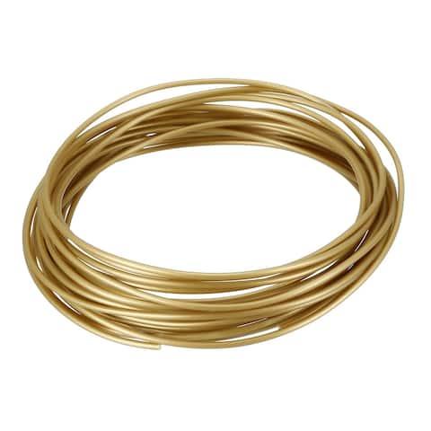 5 Meter/16 Ft PLA 3D Pen/3D Printer Filament, 1.75 mm Navy Golden