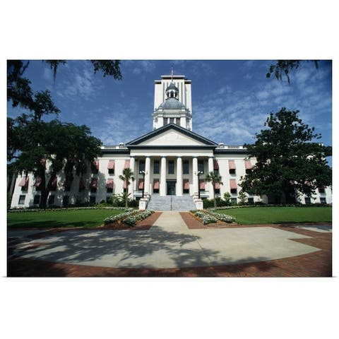 """""""Florida State Capitol Tallahassee FL"""" Poster Print"""