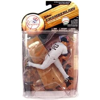 NY Yankees McFarlane MLB Series 25 Figure: Joba Chamberlain (Gray Jersey Variant)