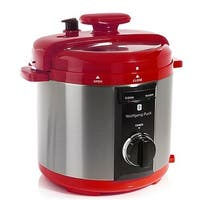 Wolfgang Puck BPCRM800R 8-Quart Rapid Electric Pressure Cooker Red