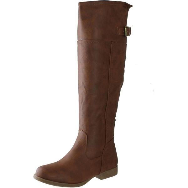 Top Moda Women's Land 57 Riding Boots - Tan