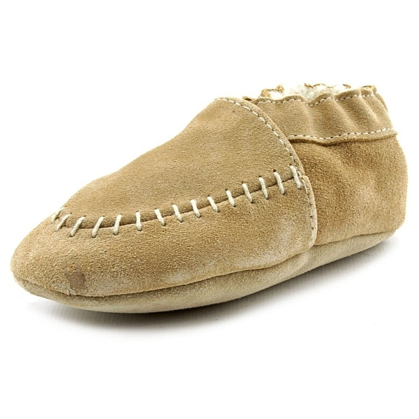 Robeez Cozy Moccasin Moc Toe Leather Slipper