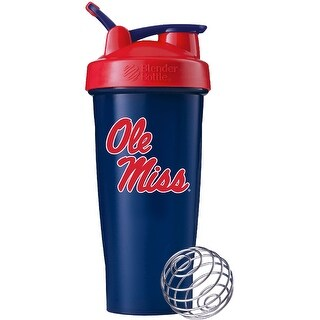 Blender Bottle University of Mississippi 28 oz. Shaker Bottle - Blue
