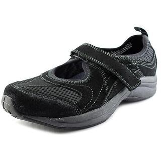 Easy Spirit WalkThru Round Toe Suede Walking Shoe