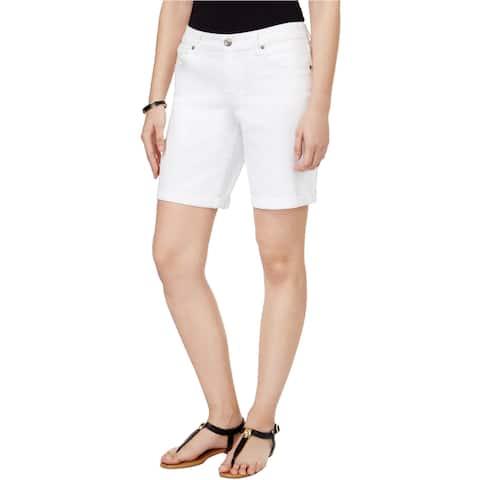 Style&Co. Womens Cuffed Casual Denim Shorts