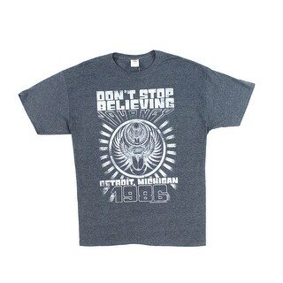 Fruit of the Loom NEW Gray Mens Size XL Dont Stop Believing T-Shirt