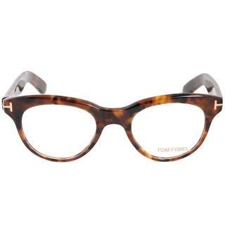 f5cb8ec7d35 Tom Ford FT5378 52 Cat Eye Dark Havana Eyeglass Frames