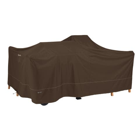 Classic Accessories Madrona RainProof General Purpose Patio Cover, Dark Cocoa
