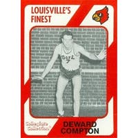 Deward Compton Basketball Card Louisville 1989 Collegiate