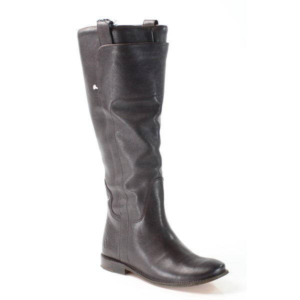 Frye NEW Brown Paige Shoes Size 6M Knee-High Leather Boots