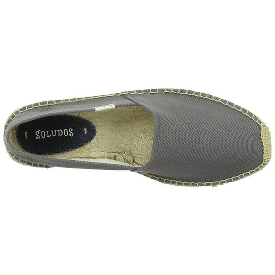 Soludos Mens original dali Canvas Closed Toe Moccasins