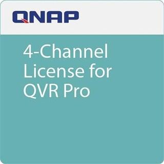 QNAP LIC-SW-QVRPRO-4CH 4 Channel License for QVR Pro
