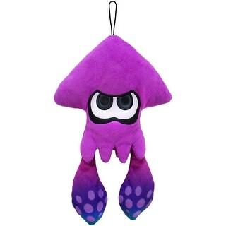 """Splatoon 9"""" Plush: Inkling Squid, Purple - multi"""