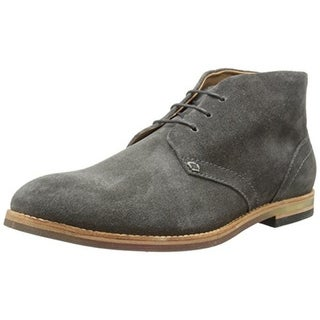 H by Hudson Mens Houghton 3 Suede Lace-Up Chukka Boots - 40