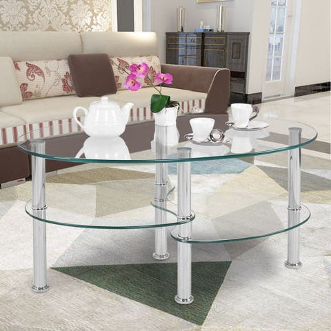 Buy Glass, Coffee Tables Online at Overstock   Our Best Living Room ...
