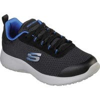 Skechers Boys' Dynamight Turbo Dash Sneaker Black/Royal