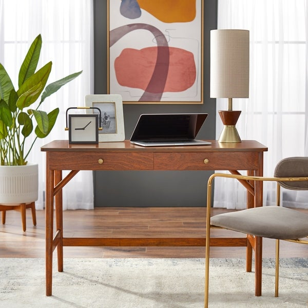 Simple Living Vera Mid-century Desk. Opens flyout.