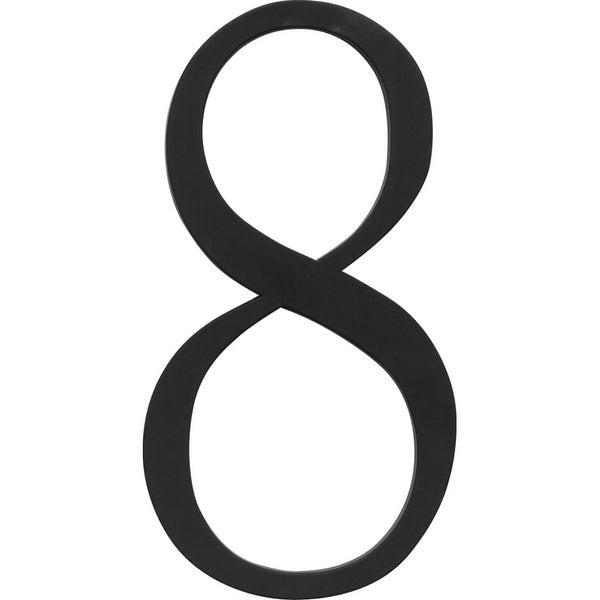 Atlas Homewares TRN8 Traditionalist Address Number 8 - Black - N/A