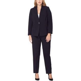 Tahari Womens Plus Pant Suit Crepe Lined - 18W