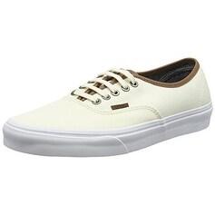 Vans Authentic Skate Shoe (9.0 Mens/ 10.5 Womens, (C&L) Classic White/ White)