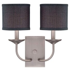 Millennium Lighting 3112 Jackson 2 Light Wall Sconce With Shade