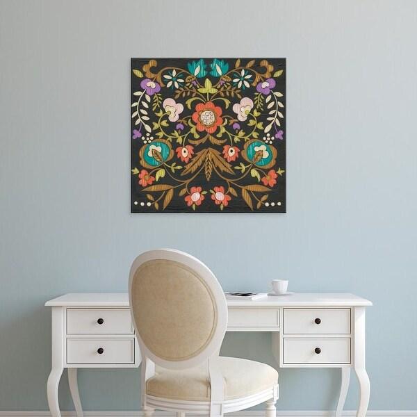 Easy Art Prints Chariklia Zarris's 'Jolene I' Premium Canvas Art