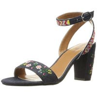 Indigo Rd. Womens Badie Open Toe Casual Ankle Strap Sandals