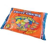 USToy CA496X3 Tootsie Fruit Chews Mega Mix, 4 lbs - Pack of 3