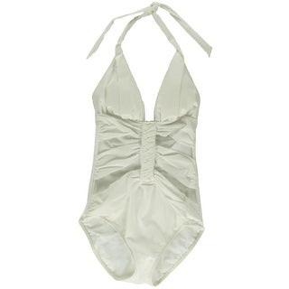 Gottex Womens Halter Cut-Out One-Piece Swimsuit