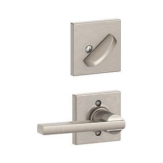 Schlage F59-LAT-COL  Latitude Single Cylinder Interior Pack with Decorative Collins Trim - Exterior Handleset Sold Separately