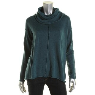 PrAna Womens Open Stitch Cowl Neck Pullover Sweater