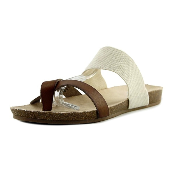 Famous Name Brand Michaela Women Cognac Sandals