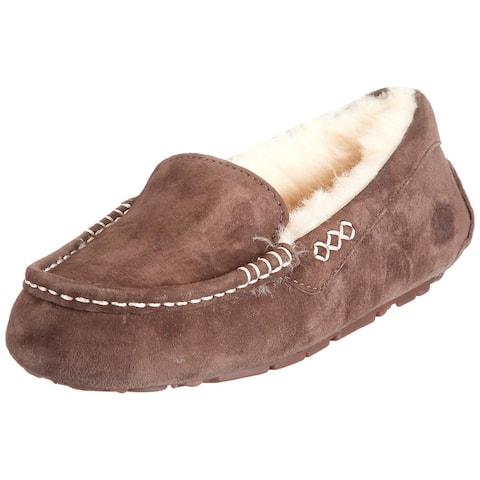 Ugg Womens Ansley Faux Fur Closed Toe
