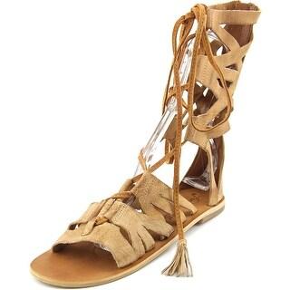 Free People Mesa Verde Women Open Toe Leather Gladiator Sandal