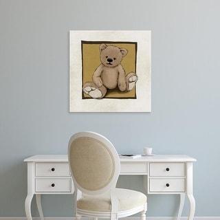 Easy Art Prints GraphINC's 'Teddy Bear' Premium Canvas Art
