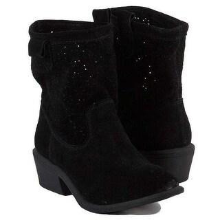 American Rag Womens Giggi Leather Almond Toe Mid-Calf Cowboy Boots