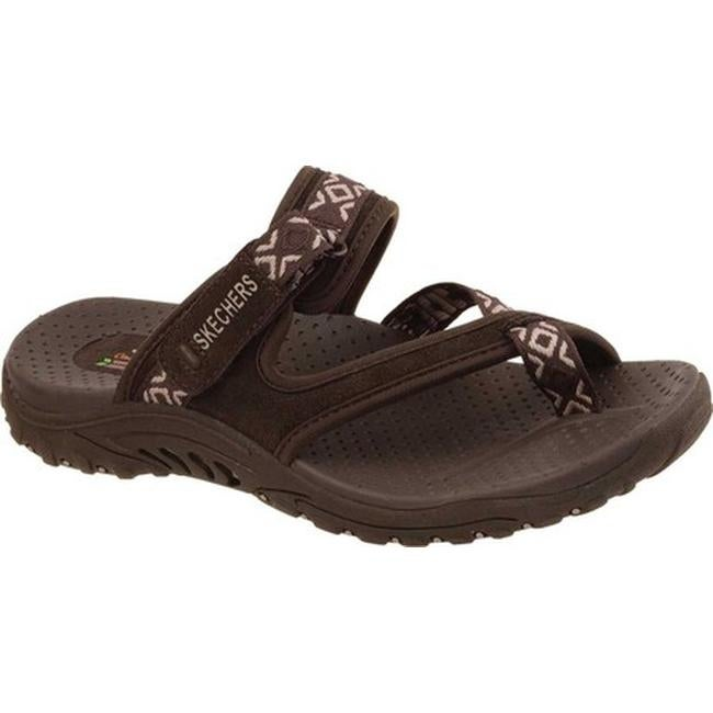 ca98e7834960 Shop Skechers Women s Reggae Trailway Sandal Chocolate - On Sale - Free  Shipping On Orders Over  45 - Overstock - 9829086