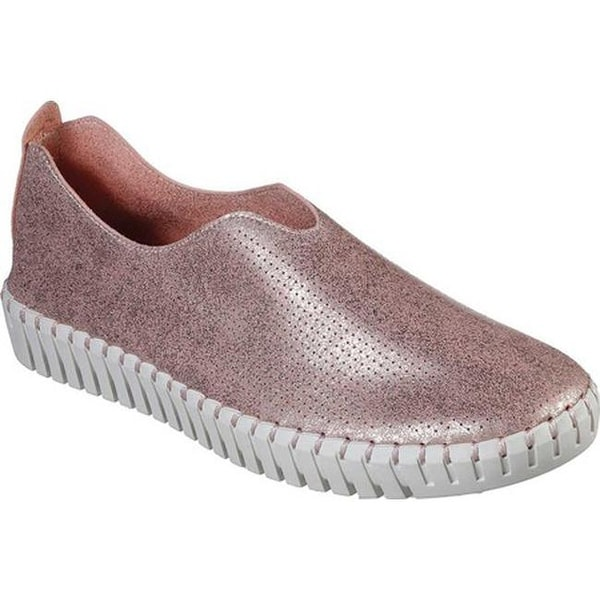 3f1c4df4bd3e Shop Skechers Women s Sepulveda Blvd Right-On-Cue Slip On Rose Gold ...