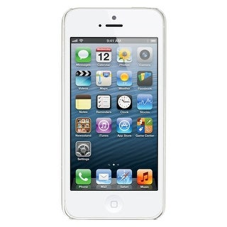 Apple iPhone 5 16GB Factory Unlocked GSM Cell Phone - White (Certified Refurbished)