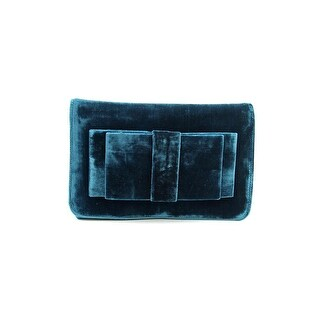 Shiraleah Bruna Women Velour Clutch NWT - Green