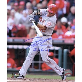 Signed Hamilton Josh Los Angeles Angels 8x10 Photo autographed
