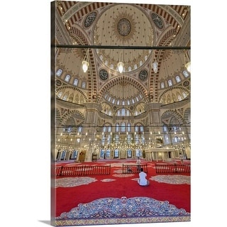"""The Fatih Mosque, Istanbul, Turkey"" Canvas Wall Art"