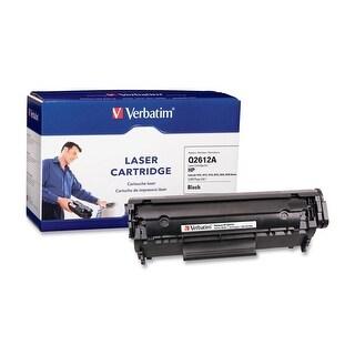 Verbatim Hp Q2612a Remanufactured Laser Toner Cartridge, Black 95387