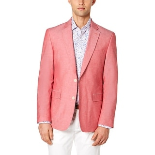 Link to Tommy Hilfiger Mens Sportcoat Formal Business - Red - 38R Similar Items in Sportcoats & Blazers