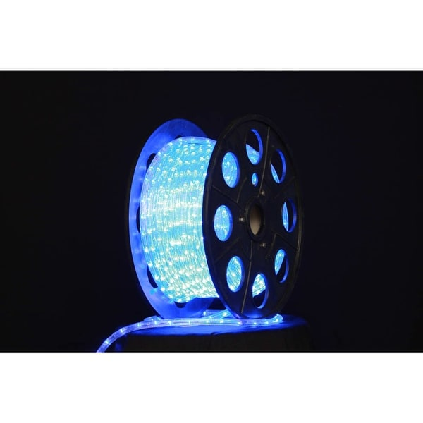 Christmas at Winterland C-ROPE-LED-BL-1-10 150 Foot 10mm Blue LED Rope Light with 1 Inch Spacing, 36 Inch Cut Length, and - N/A