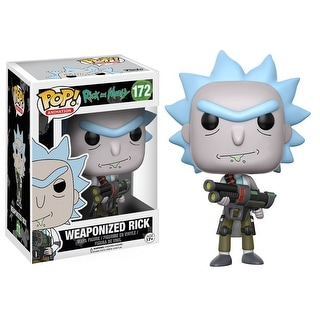 "FunKo POP! Animation Rick and Morty Weaponized Rick 3.75"" Vinyl Figure"