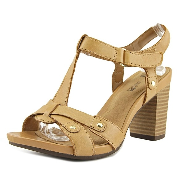 92e862df8152 Shop Clarks Banoy Valtina Women Open Toe Leather Sandals - Free ...