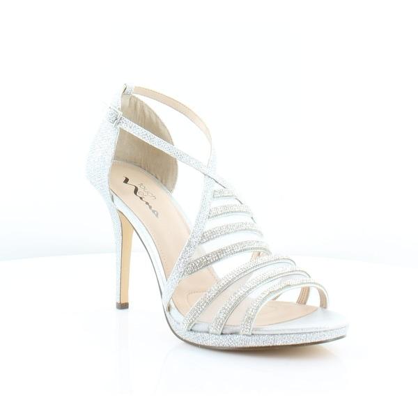 Nina Raya Women's Heels Silver