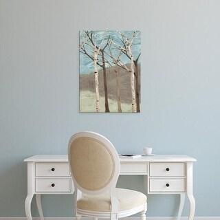 Easy Art Prints Jade Reynolds's 'Blue Birches II' Premium Canvas Art